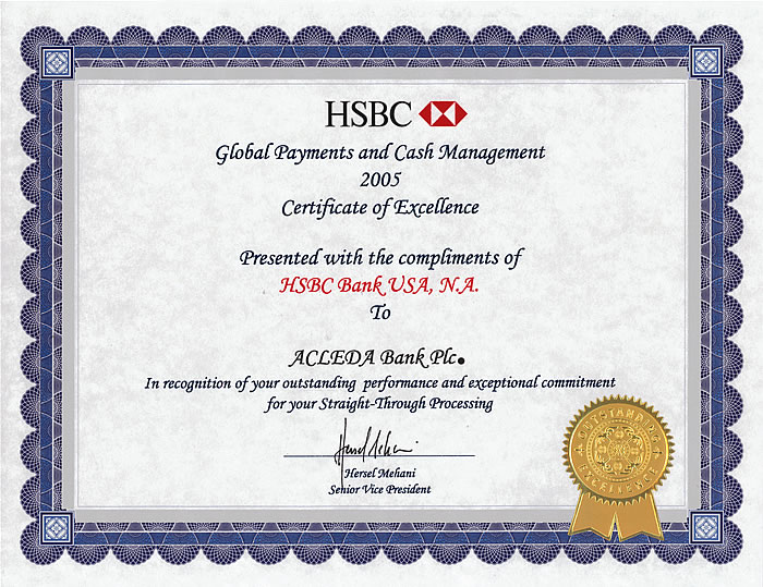 Pics photos certificate of outstanding performance with a formal red