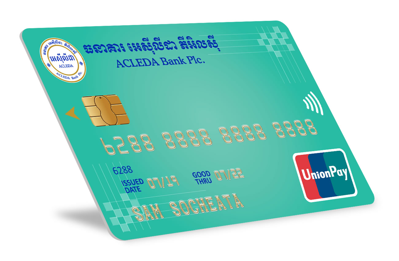 ACLEDA Bank Plc  and UnionPay International Expand