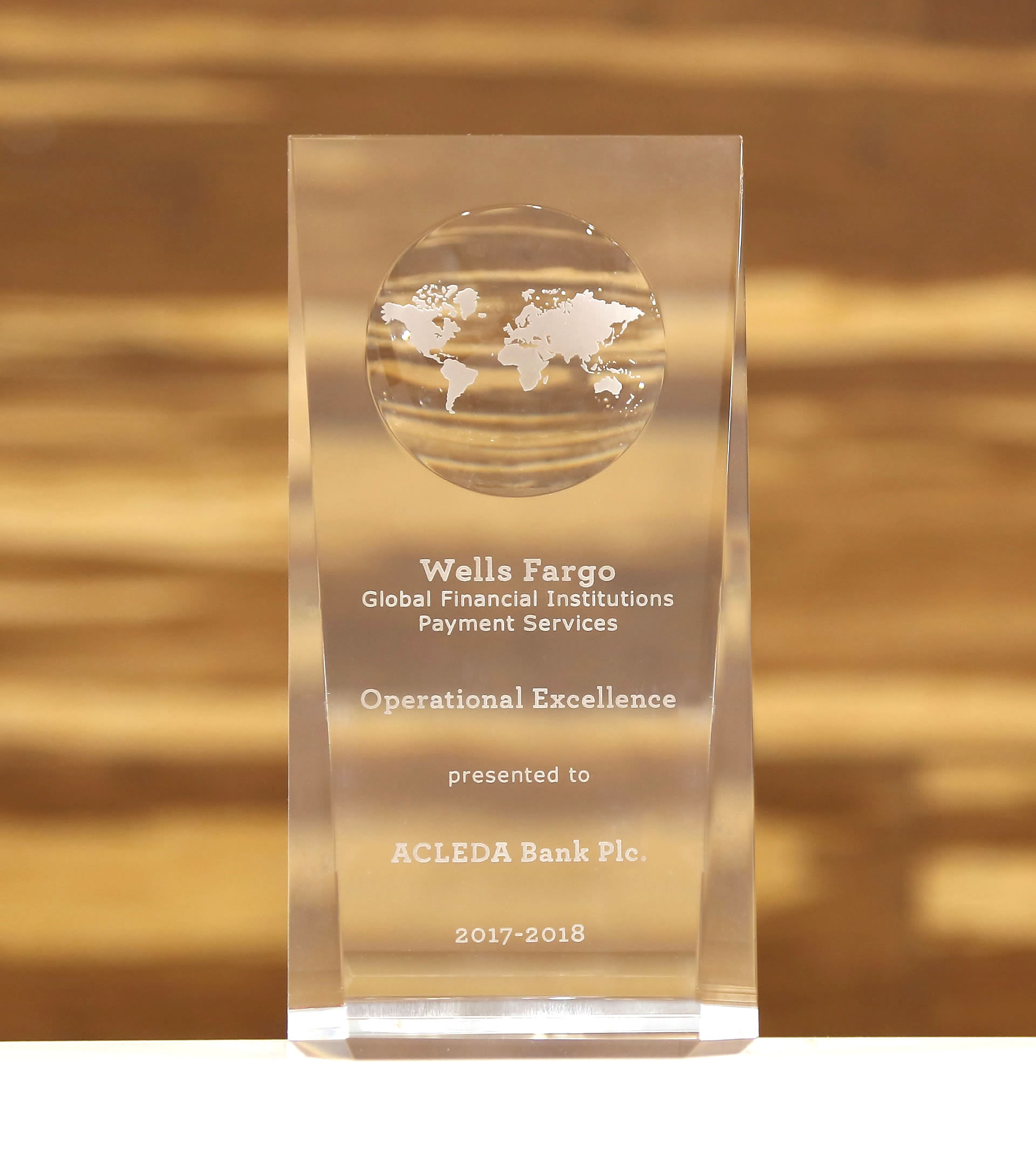 Acleda Bank Plc Cambodia Wells Fargo International Wiring Instructions Operational Excellence Award 2017 2018 From